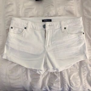 STS Blue White Denim Shorts